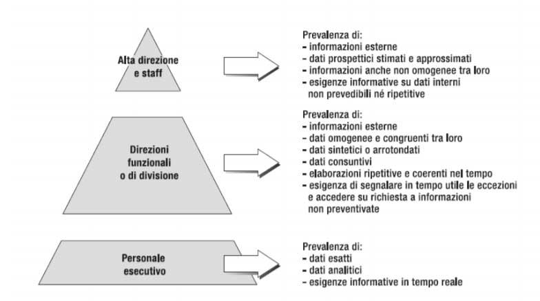 Business Intelligence - Piramide di Anthony
